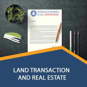 LAND TRANSACTIONS AND REAL ESTATE