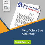 Motor Vehicle Sale Agreement